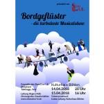 Bordgeflüster - die turbulente Musicalshow 15.04.18